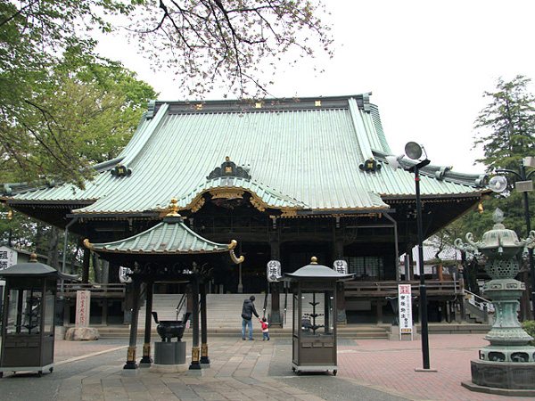 東京初詣神社堀之内妙法寺