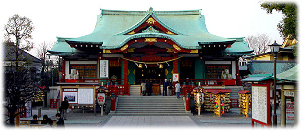 東京初詣神社亀戸天神社
