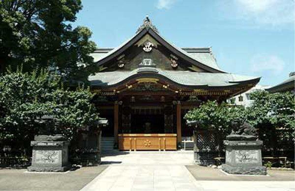 東京初詣神社湯島天満宮