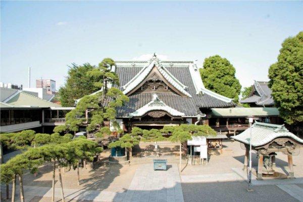 東京初詣神社帝釈天題経寺