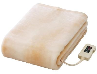 ナカギシ 電気ボアしき毛布 ロングサイズ(水洗い可)ベージュ NA-08SL(BE)
